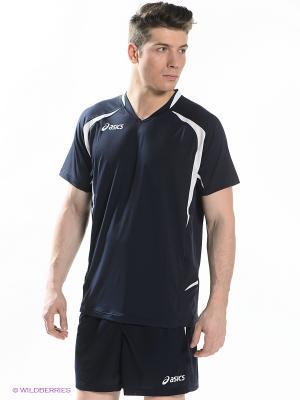 Волейбольная форма SET TIGER MAN ASICS. Цвет: синий