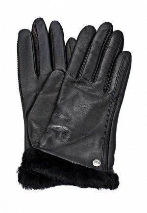 Перчатки UGG Australia UG174DWJG888. Цвет: черный