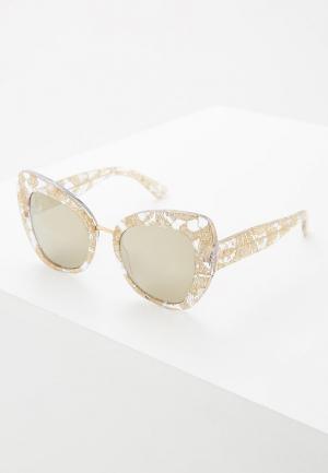 Очки солнцезащитные Dolce&Gabbana DG4319 31535A. Цвет: золотой