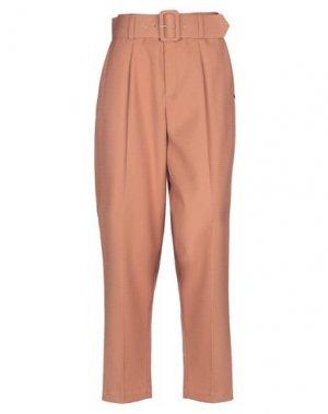 Повседневные брюки NÜMPH. Цвет: верблюжий