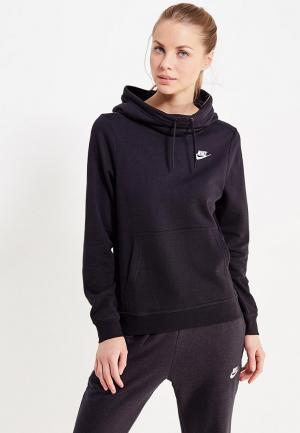 Худи Nike Womens Sportswear Funnel-Neck Hoodie. Цвет: черный