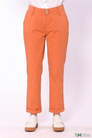 Брюки Michele. Цвет: оранжевый