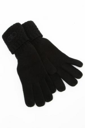 Перчатки Salvatore Ferragamo. Цвет: черный