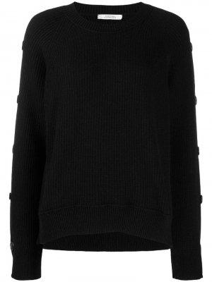 Пуловер с пуговицами Dorothee Schumacher. Цвет: черный