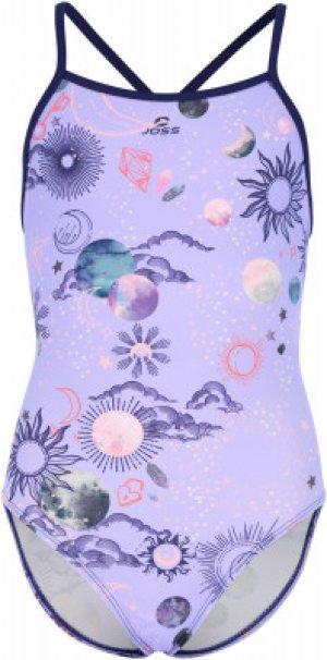 Купальник для девочек , размер 164 Joss. Цвет: фиолетовый