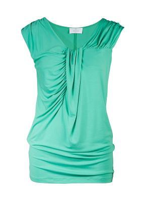 Топ Elegance. Цвет: зеленый