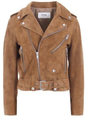 Куртка-косуха замшевая CELINE