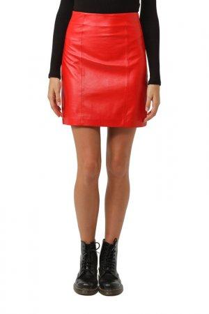 Skirt Isaco & Kawa. Цвет: red