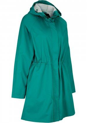 Куртка спортивная bonprix. Цвет: сине-зеленый