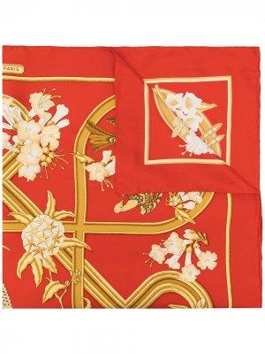 Платок Caraibes 1990-х годов Hermès. Цвет: разноцветный