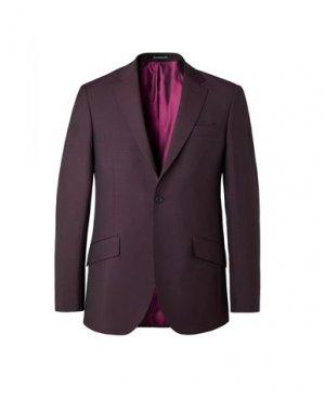 Пиджак RICHARD JAMES. Цвет: баклажанный