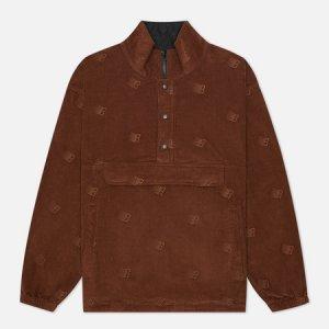 Мужская куртка анорак All Over Embroidered Bronze 56K. Цвет: коричневый