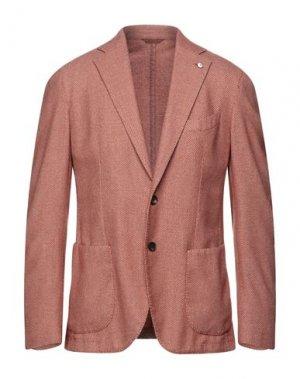 Пиджак L.B.M. 1911. Цвет: ржаво-коричневый