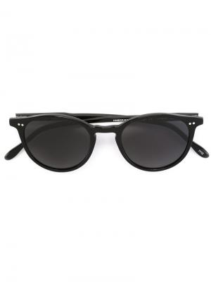 Солнцезащитные очки Pantos Paris. Цвет: черный