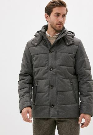 Куртка утепленная Hackett London. Цвет: коричневый