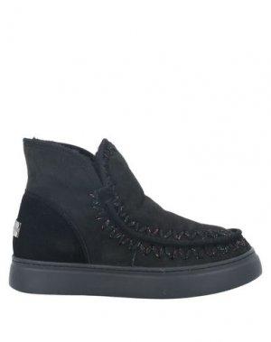 Полусапоги и высокие ботинки MOVIE'S. Цвет: черный