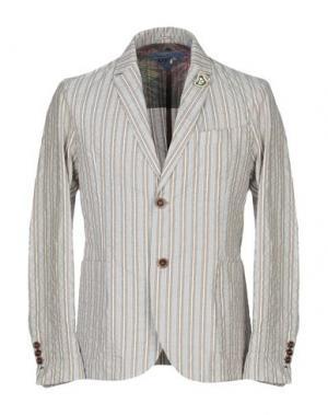 Пиджак KOON. Цвет: голубиный серый