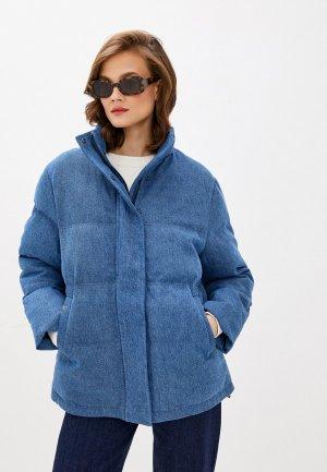 Куртка утепленная UNQ. Цвет: синий