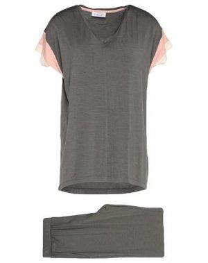 Пижама FEMILET. Цвет: зеленый-милитари
