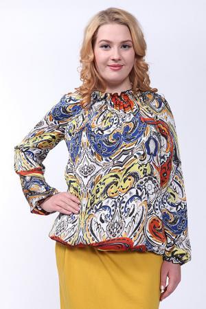 Блуза Lissa. Цвет: микс
