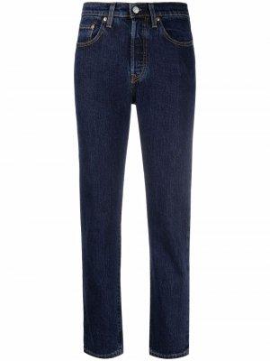 Levis прямые джинсы Levi's. Цвет: синий