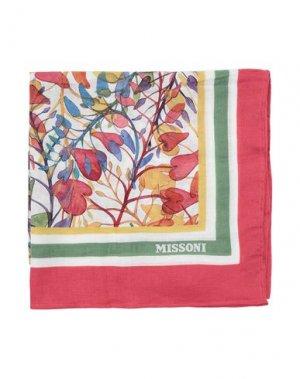 Пляжное полотенце MISSONI HOME. Цвет: красный