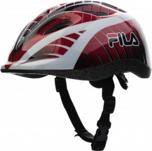Шлем детский Fila. Цвет: красный