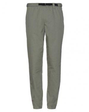 Повседневные брюки HERSCHEL SUPPLY CO.. Цвет: зеленый-милитари