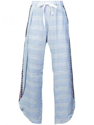 Пляжные брюки Ribani с разрезами сбоку Lemlem