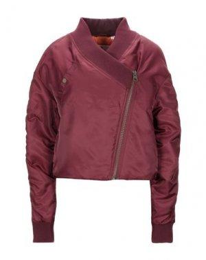 Куртка CHEAP MONDAY. Цвет: красно-коричневый