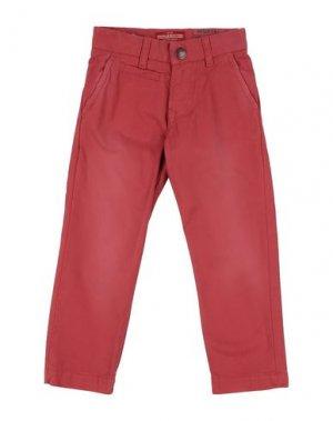 Повседневные брюки AMERICAN OUTFITTERS. Цвет: кирпично-красный