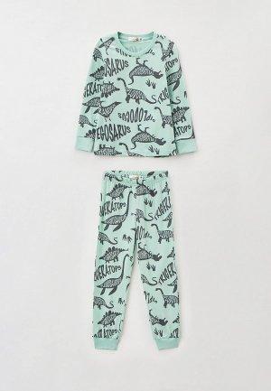 Пижама RoxyFoxy. Цвет: бирюзовый