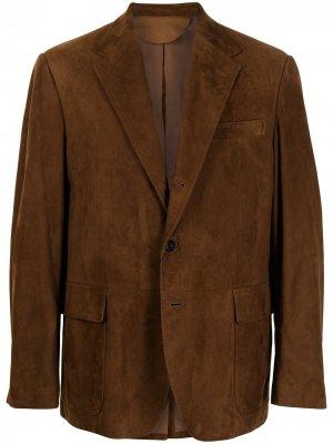 Пиджак на пуговицах Polo Ralph Lauren. Цвет: коричневый