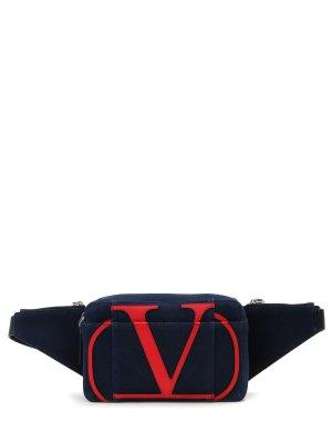 Поясная джинсовая сумка VALENTINO