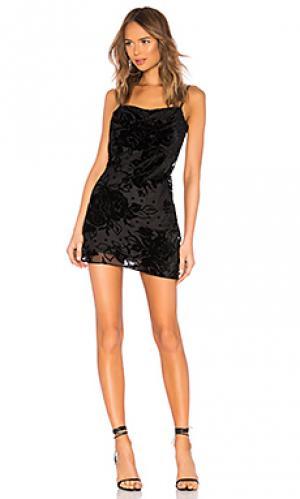Платье salem Parker. Цвет: черный