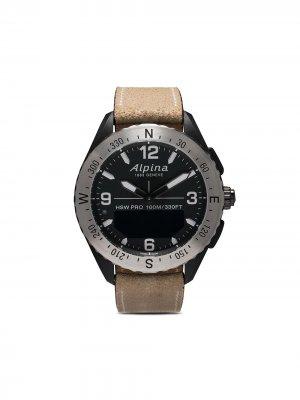 Наручные часы AlpinerX Smartwatch 45 мм Alpina. Цвет: черный