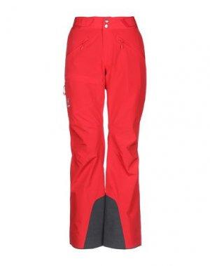Повседневные брюки HAGLÖFS. Цвет: красный