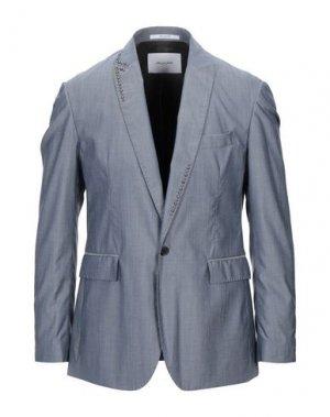Пиджак AGLINI. Цвет: грифельно-синий