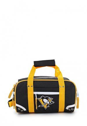 Сумка спортивная Atributika & Club™ NHL Pittsburgh Penguins. Цвет: черный