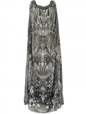 Платье One Tribe Camilla. Цвет: черный
