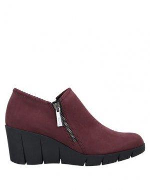 Ботинки THE FLEXX. Цвет: красно-коричневый