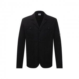 Пиджак C.P. Company. Цвет: чёрный
