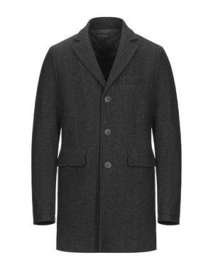 Пальто ERIC HATTON. Цвет: стальной серый