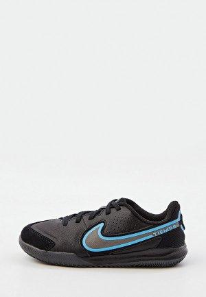 Бутсы зальные Nike JR LEGEND 9 ACADEMY IC. Цвет: черный