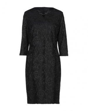 Платье до колена BARBARA LEBEK. Цвет: черный