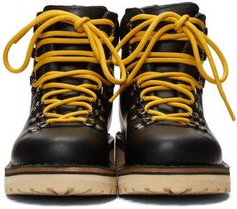 Black Roccio Vet Boots Diemme. Цвет: black