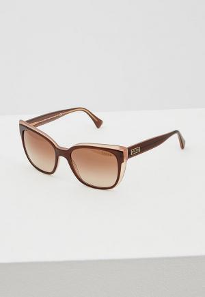 Очки солнцезащитные Ralph Lauren RA5242 568413. Цвет: коричневый