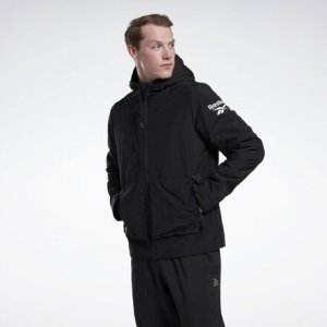 Куртка Meet You re Fleece Reebok. Цвет: black