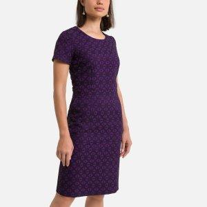 Платье LaRedoute. Цвет: фиолетовый