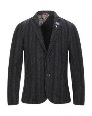 Пиджак KOON. Цвет: темно-зеленый